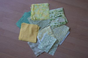 Fabrics from Australia and my stash