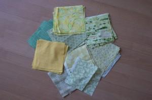 Fabrics from Australia and my stash