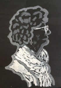 zelfportret_zwart_acryl